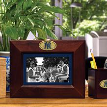 Landscape Brown Picture Frame - New York Yankees