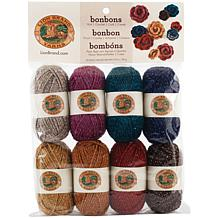 Lion Brand Yarn Bonbons 8 Pack - Party
