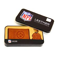 NFL Wallet & Key Fob Set