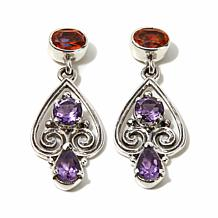 Nicky Butler Multigemstone Filigree Drop Earrings