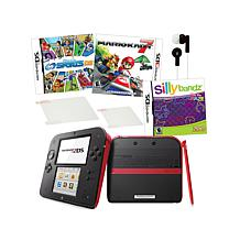 Nintendo 2DS System Bundle with 3 Games and Accessories