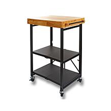 Hsn Origami Folding Island Kitchen Cart