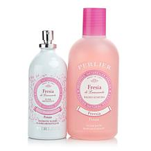 Perlier Freesia Elixir and Bath Duo