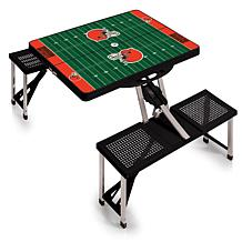 Picnic Time Picnic Table Sport - Cleveland Browns