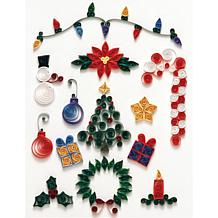 Quilled Creations Quilling Kit - Christmas