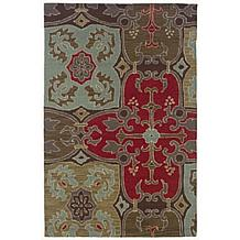 Rizzy Home Country Mosaic Multi Rug - 8' x 10'