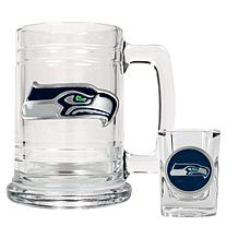 Seattle Seahawks Boilermaker Set