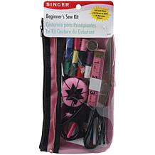 Singer Beginner's Sew Kit - Pink/Black