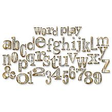Sizzix Bigz XL Die By Tim Holtz - Word Play Alphabet