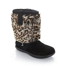 Tony Little Cheeks® Fit Body Suede Boots with Cuffs