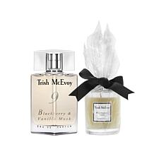 Trish McEvoy No. 9 Blackberry and Vanilla EDP w/Candle