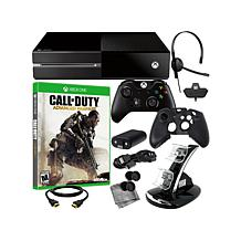 "Xbox One 500GB, ""Call of Duty Adv. Warfare"" Game"
