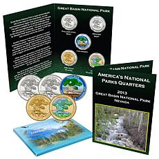 2013 Great Basin National Park 5pc Quarter Set