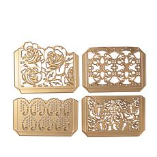 Anna Griffin® Cuttlebug™ Pretty Pocket 4-piece Die Set
