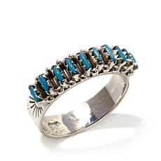 Chaco Canyon Southwest Sleeping Beauty Turquoise Ring