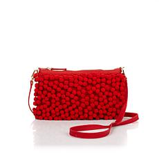 Clever Carriage English Eccentric Pompom Crossbody