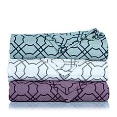 Concierge Collection Elements Geometric Cotton Blanket