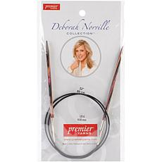 "Deborah Norville Fixed Circular 32"" Needles - Size 6/4m"