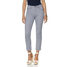 DG2 by Diane Gilman SuperStretch Lite Gingham Capri