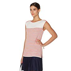 French Rendez Vous Martin Mariner Striped Tank