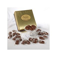 Giannios 1 lb. of English Toffee in a Golden Box