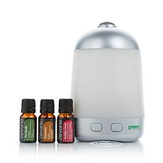 Greenair SpaVapor Holiday Essential Oil Diffuser Set