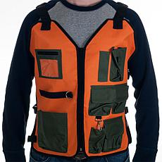 Happy Camper Nylon 7-Pocket Vest with Adjustable Straps