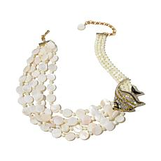 "Heidi Daus ""Something's Fishy"" Multi-Strand Necklace"