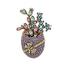 "Heidi Daus ""Spring Arrangement"" Crystal Pin"