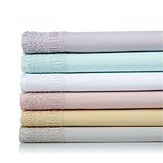 Highgate Manor Lace Edge 6-piece Microfiber Sheet Set