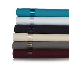 Highgate Manor Microfiber Satin Ribbon 4pc Sheet Set