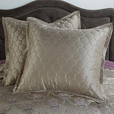 Highgate Manor Set of 2 Bristol Euro Shams