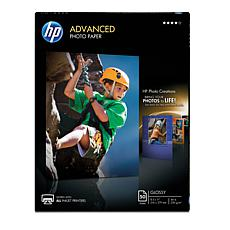 "HP 8.5"" x 11"" Advanced Glossy Photo Paper 50-count 2-pk"
