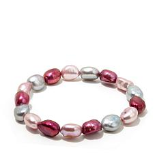 Imperial Pearls 9-10mm Pearl Stretch Bracelet