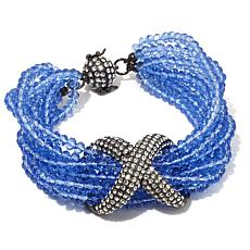 "Joan Boyce ""X-cited Over You"" Multi-Row Pavé Bracelet"