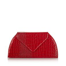JOY & IMAN Luxe Patent Evening Clutch