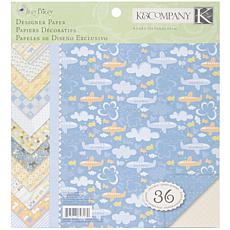 K & Company Simply K Itsy Bitsy Double Sided Paper Pad