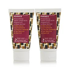 Korres Almond Oil & Shea Butter Hand Cream Duo