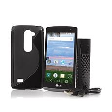"LG Sunset 4.5"" 4G LTE Android TracFone w/1200 Minutes"