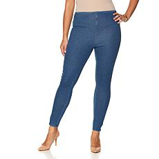 LYSSE Noho Denim Zipper Legging - Plus