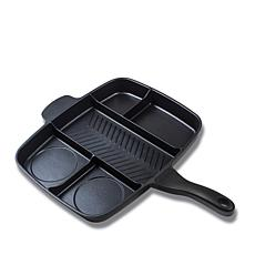 "Master Pan 15"" Nonstick Multi-Sectional Meal Pan"