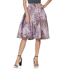 Melissa McCarthy Seven7 Pleated Full Skirt - Missy