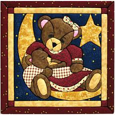 Momma and Baby Bear Quilt Magic No Sew Wall Hanging Kit