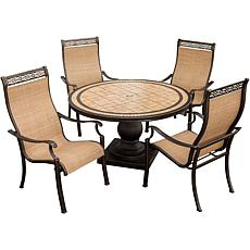 Monaco 5-piece Outdoor Dining Set