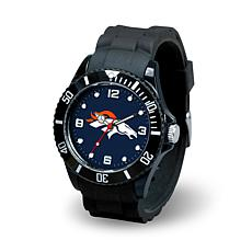 NFL Spirit Rubber Strap Watch - Denver Broncos