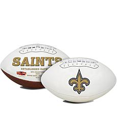 NFL White Panel Football with Autograph Pen by Rawlings