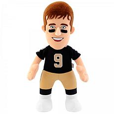 "Officially Licensed NFL Drew Brees 10"" Plush Figure"
