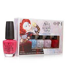 OPI Alice Nail Lacquer Minis 4-piece Set w/1 Full Size