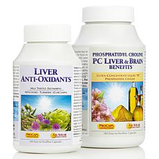 PC Liver, Brain & Liver Anti-Oxidant Kit - 720 Capsules