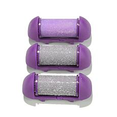 PedEgg Power Platinum 3-piece Roller Refill Kit